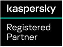 Kaspersky Registered Partner Logo