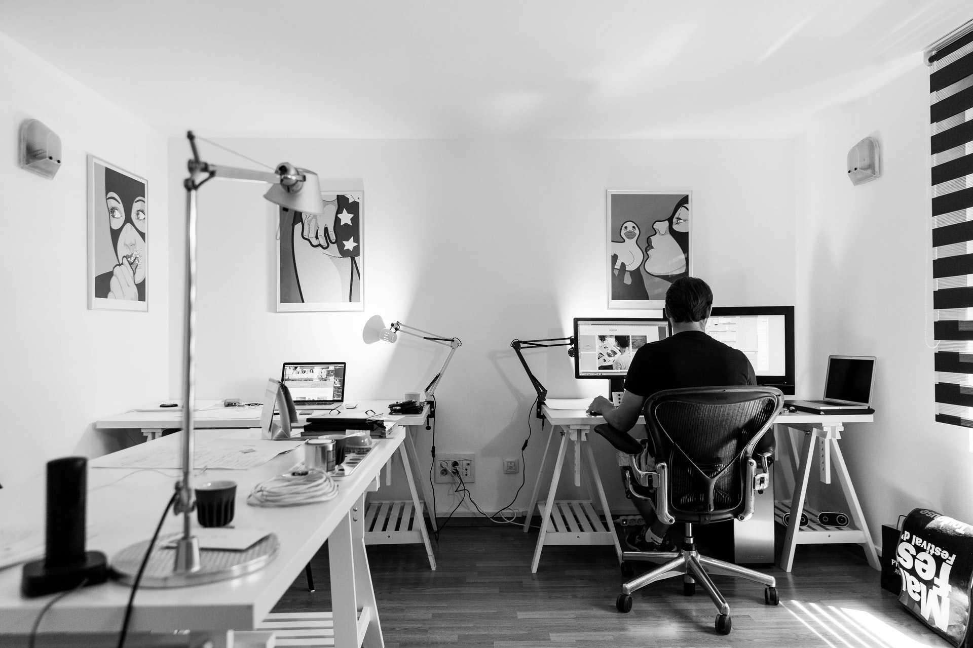 Sala de escritório